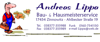 Andreas Lippa - Bau- und Hausmeisterservice Zinnowitz